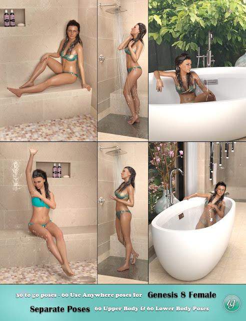 IG Luxury Bathroom Poses
