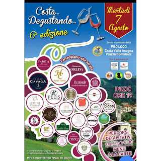 Costa…degustando 7 agosto Costa Valle Imagna (BG)