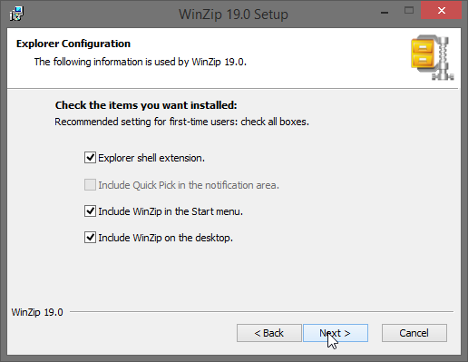 วิธีการติดตั้งโปรแกรม Winzip Pro 22 + ตัวโปรแกรมให้ดาวน์โหลด ฟรี