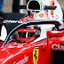 Halo de proteção é testado no carro da Ferrari