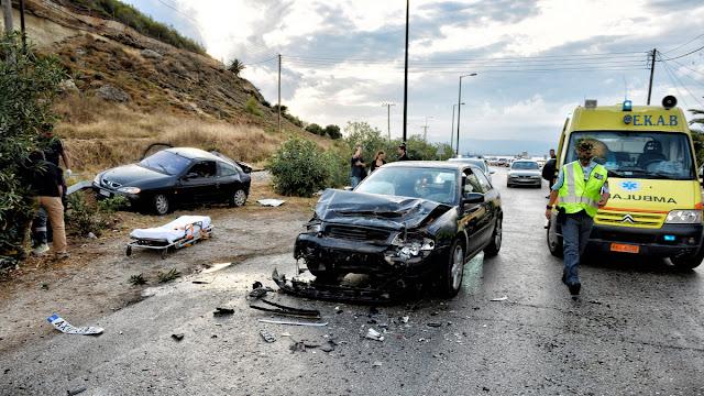 Αυξήθηκαν τα θανατηφόρα τροχαία ατυχήματα τον Δεκέμβριο στην Πελοπόννησο