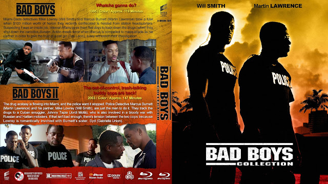 Bad Boys Collection Bluray Cover