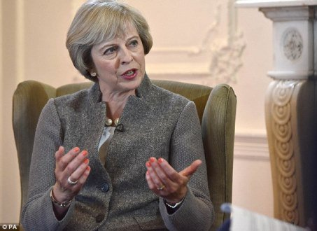 Brexit may bring difficult times, says Theresa May