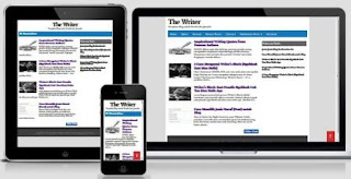 The Writer - Responsive Simple Blogger Template