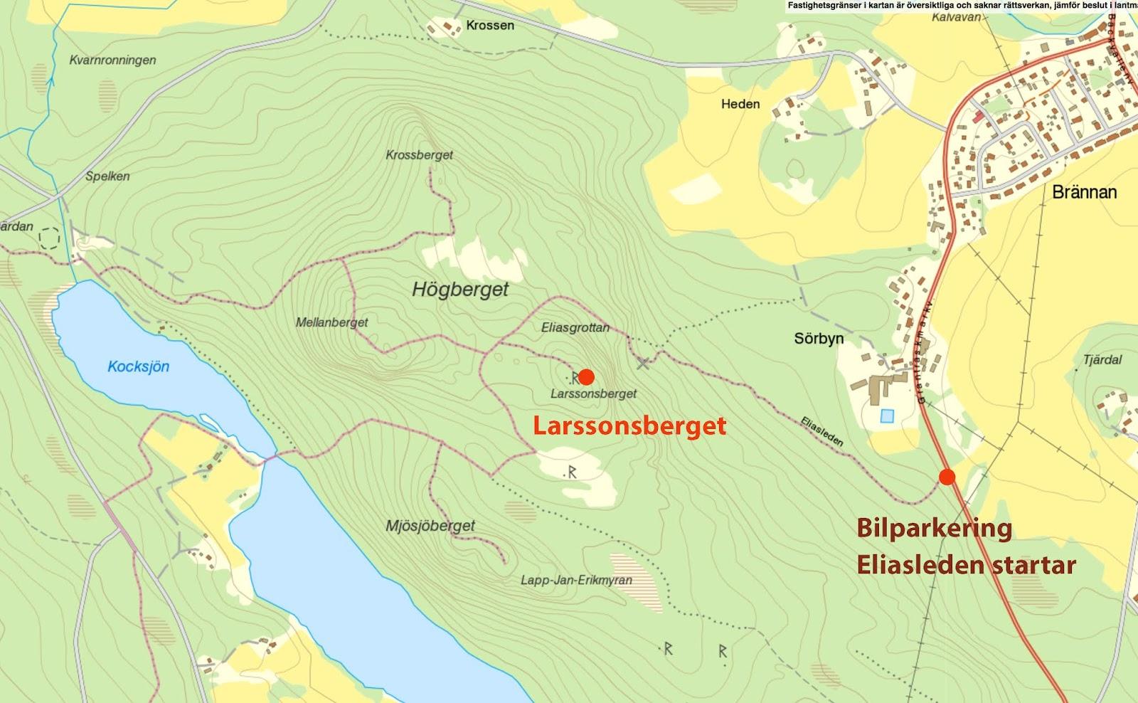 eliasleden karta Top of Piteå eliasleden karta