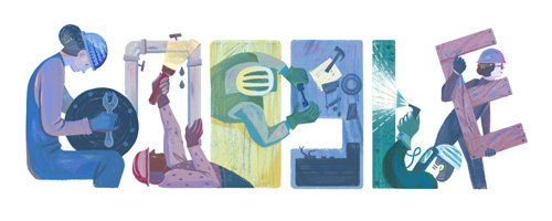 Apa itu Labor Day Google Doodle Hari Ini