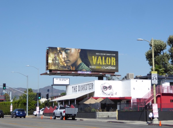 Valor season 1 billboard