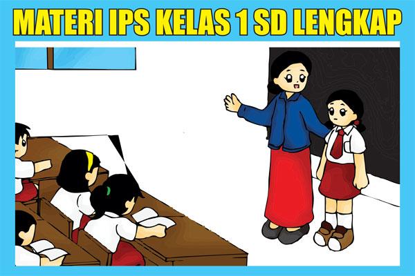Materi IPS Kelas 1 SD/MI Semester 1/2 KTSP Lengkap