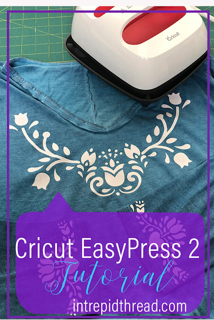 Bohemian Embroidery Cricut EasyPress 2 Tutorial