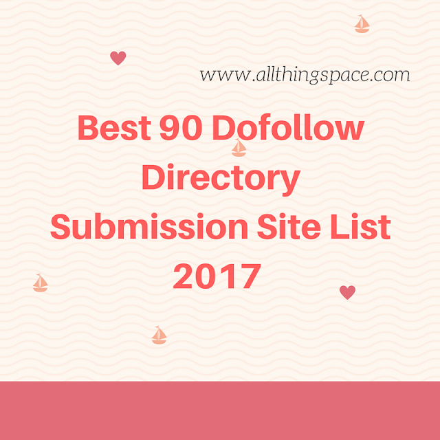 Best 90 Directory Submission Websites list in 2017
