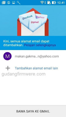 Verifikasi Akun Google Asus Zenfone GO X014D