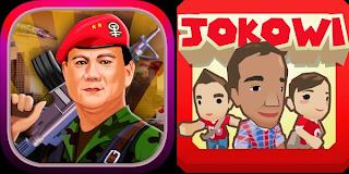 Game Pertarungan Prabowo vs Jokowi di Android