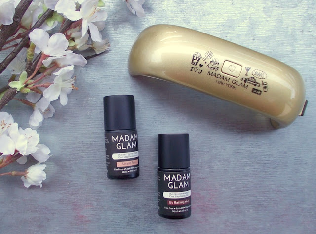 madamglam one step gel polish led light