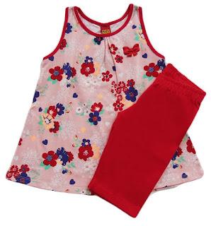 Kit de roupas infantis de marca no atacado