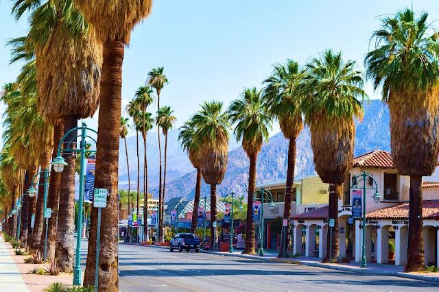 Quantidade de dias mínima para ficar em Palm Springs