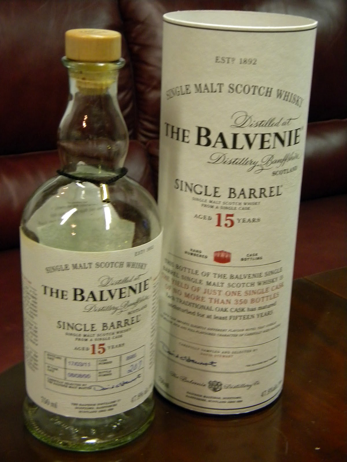 Balvenie DoubleWood 12 Year Old Whisky - Master of Malt