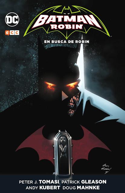 """Comic: Review de """"Batman Robin: En busca de Robin"""" de Peter Tomasi - ECC ediciones"""