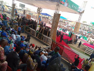 Buhari In Trouble As Crowd Ended His Campaign In Ogun Sate Today