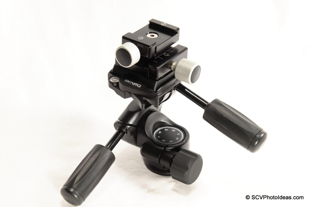 Hejnar F012 QR clamp w/ Clamp Adapter Plate on Benro HD-38 head