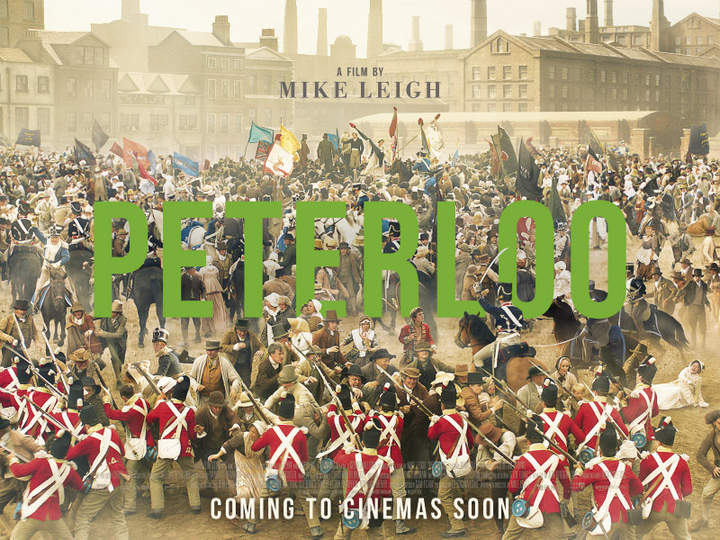 Mike Leigh's PETERLOO quad