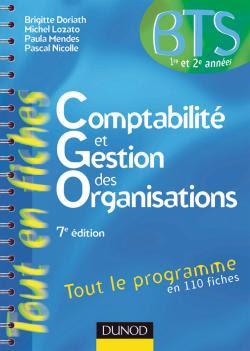 COMPTABILITÉ ET GESTION DES ORGANISATIONS*