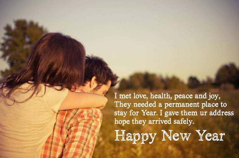 new year messages for wifegirlfriend 2018