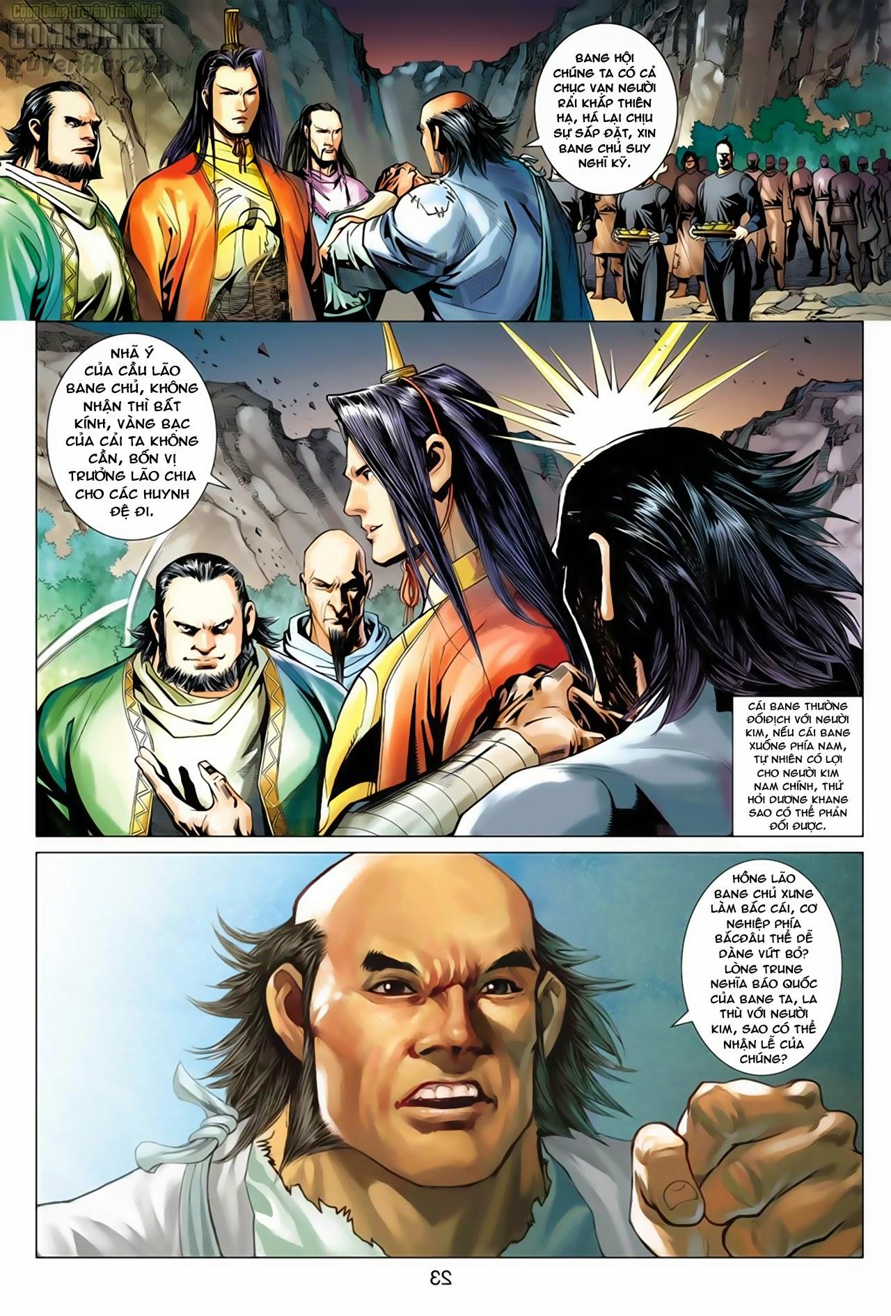 Anh Hùng Xạ Điêu anh hùng xạ đêu chap 66: nhạc châu đại hội trang 23