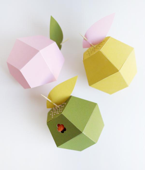 eu amo artesanato caixa em formato de maçã passo a passo com molde