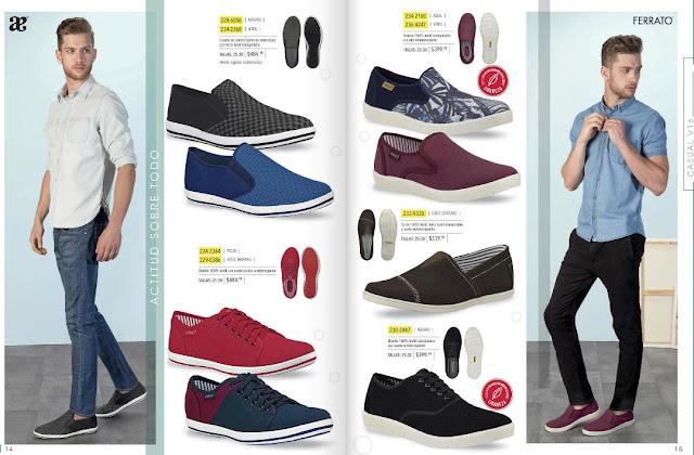 Zapatos Andrea caballeros ferrato digital verano 2016