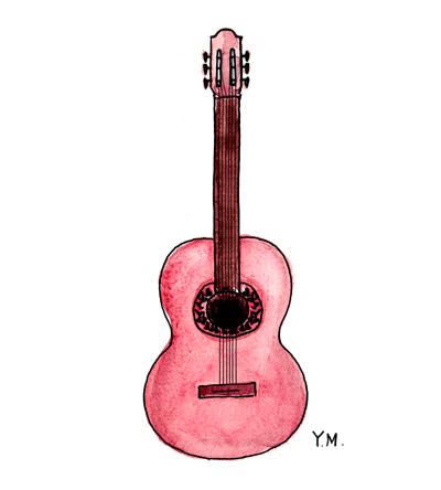 Guitar by Yukié Matsushita