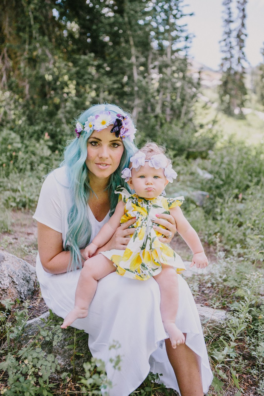 Mommy and Me Outfits, Floral Headbands, Fashion blogger