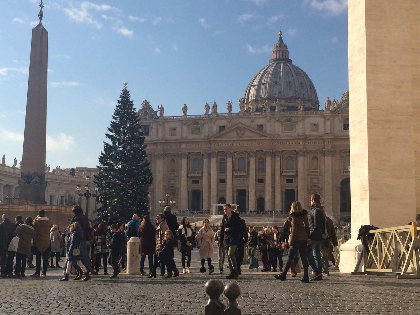 Vatican City at Christmas time, Italy