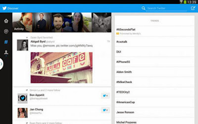 Twitter for Samsung Android tablets