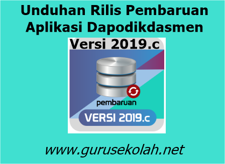 Unduhan Rilis Pembaruan Aplikasi Dapodikdasmen Versi 2019.c