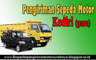 JASA PENGIRIMAN SEPEDA MOTOR SURABAYA-KEDIRI