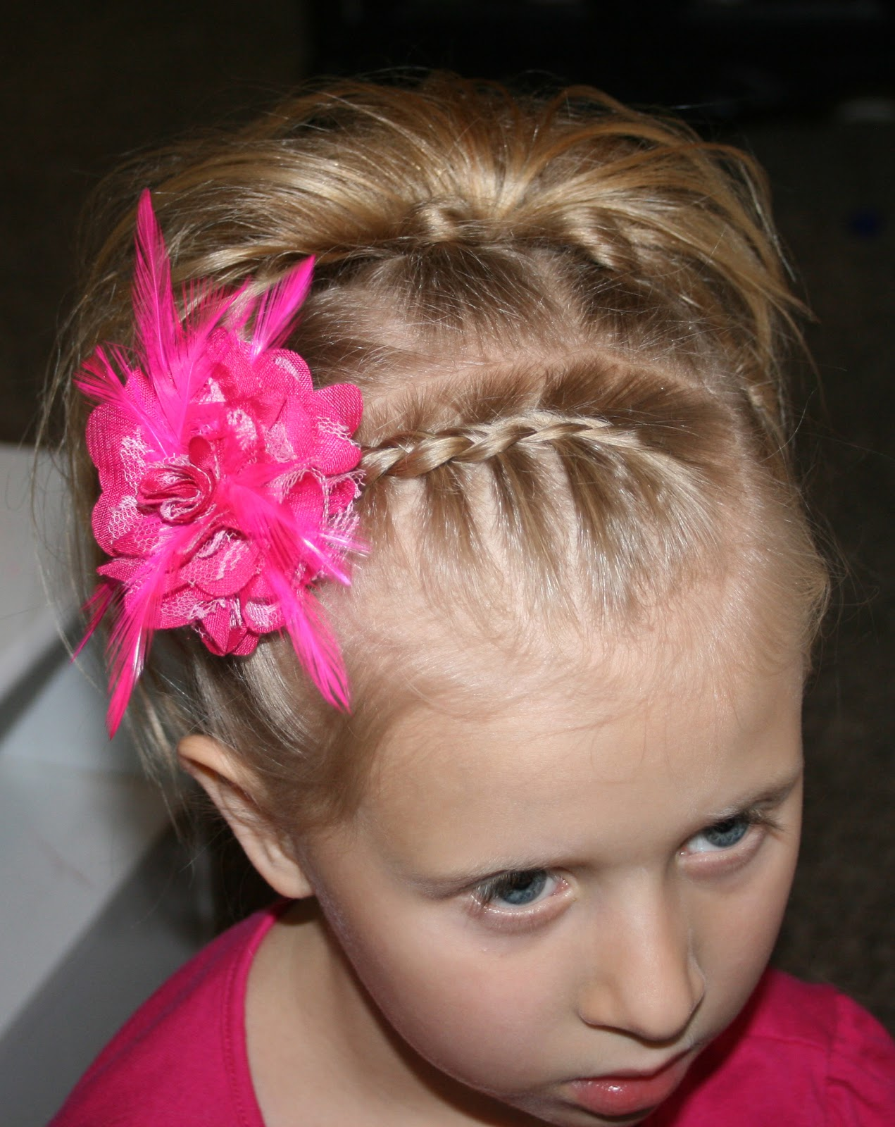 Little girl Hairstyle tutorial #7 Knot hair do
