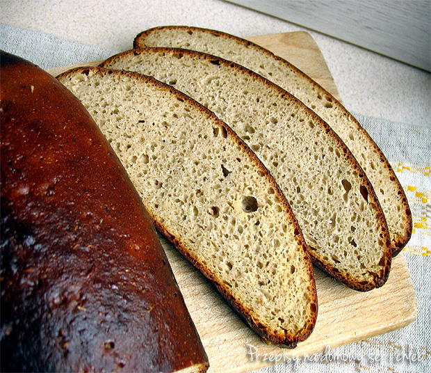 litewski jasny chleb żytnio-pszenny