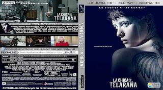 CARATULALA CHICA EN LA TELARAÑA – THE GIRL IN THE SPIDER'S WEB – 2018