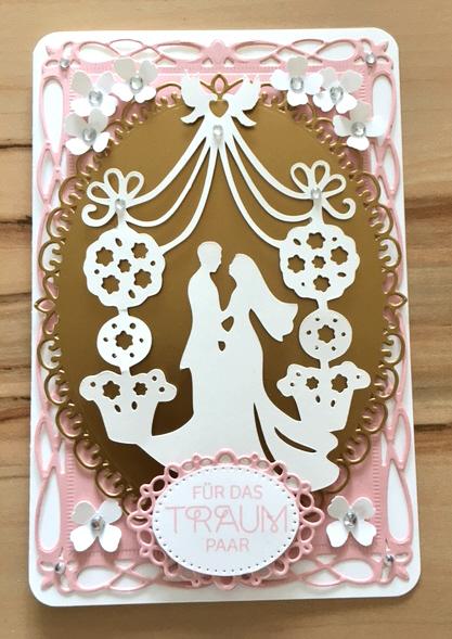 Papierkram Hochzeitskarte