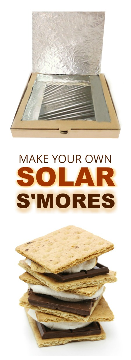 FUN SCIENCE: Make solar S'mores using a pizza box! #scienceexperimentskids #scienceforkids #solarsmores #solarsmoresforkids #solarsmoresoven #experimentsforkids #experiments #activitiesforkids