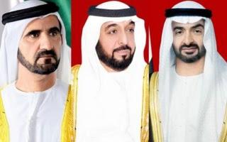 UAE leaders condole Bahraini King on death of Sheikha Aisha bint Salman
