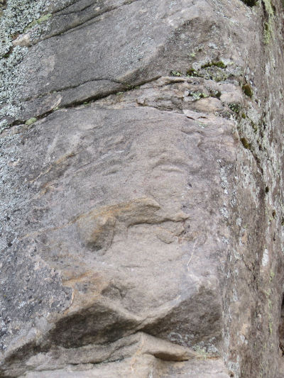 the Face in the Rock