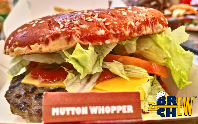 Burger King's Mutton Angriest Whopper