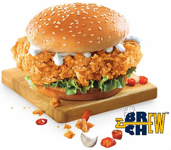 kentucky fried chicken or kfc restaurants brew chew review