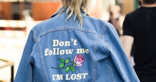 TENDENCIAS GRÁFICAS: DENIM JACKETS CUSTOMIZADAS