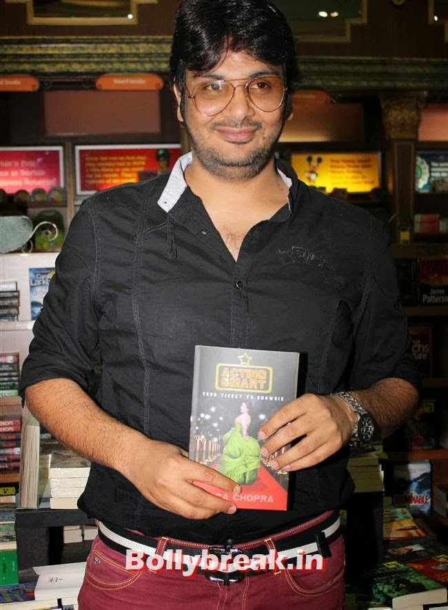 Mukesh Chabra, Tisca Chopra Launches Her Book 'Acting Smart'
