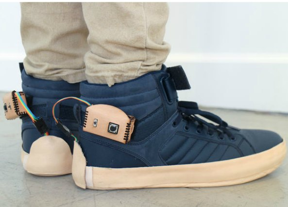 zapatillas, musica, inventos