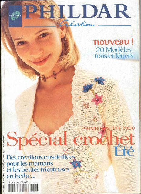 PHILDAR Creations -Revista Crochê