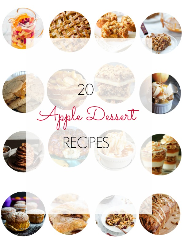 Apple dessert recipes round up - Ioanna's Notebook
