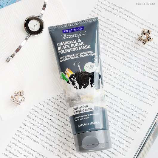 Review || Freeman Charcoal & Black Sugar Polishing Mask!